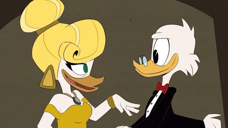 Scrooge and Goldie O'Gilt Reunite (Clip) | Ducktales