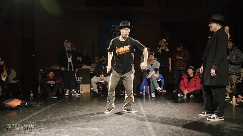 POP ON BATTLE VOL.6 | QUARTER FINAL-4 ZINWON VS KRISS BOOGIE