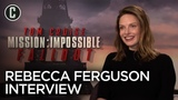 Rebecca Ferguson Talks Mission Impossible Fallout, Tom Cruise and Plays Ice Breakers