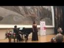 Дарья Сушкова Дж Россини речитатив и ария Танкреда из оперы Танкред
