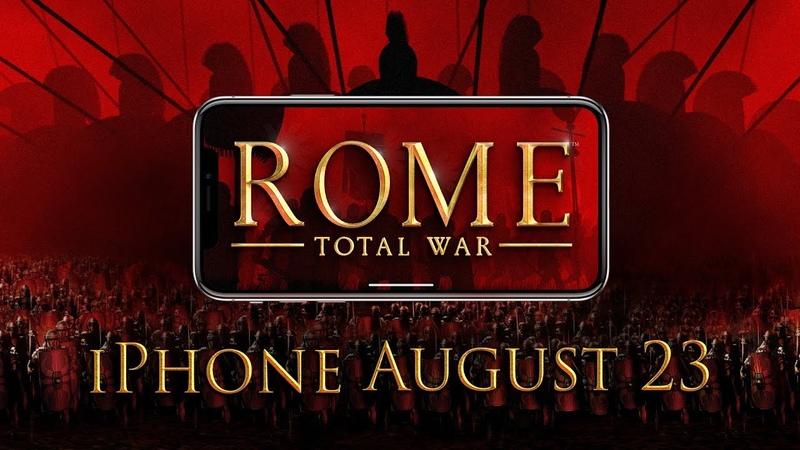 Дата выхода и новый трейлер игры Rome: Total War для iPhone!
