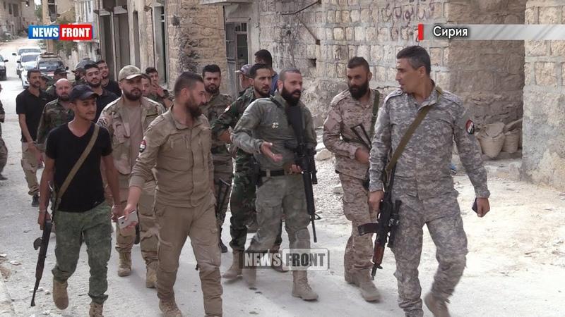 Христианское ополчение Скальбии и Лива Аль Кудс из Алеппо - Олег Блохин