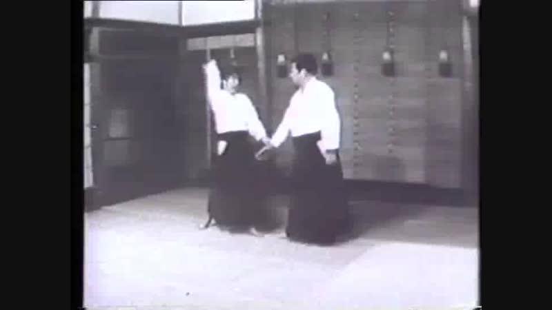 Saito Sensei assisted by Hans Goto Sensei (Tainohenko, Ikkyo - Sankyo).