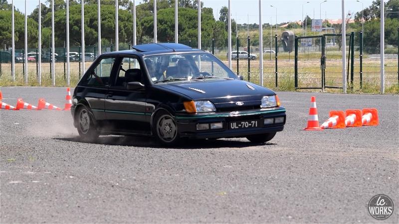 Sintra Clássicos Prova de perícia Ford Fiesta XR2i 1ªVolta