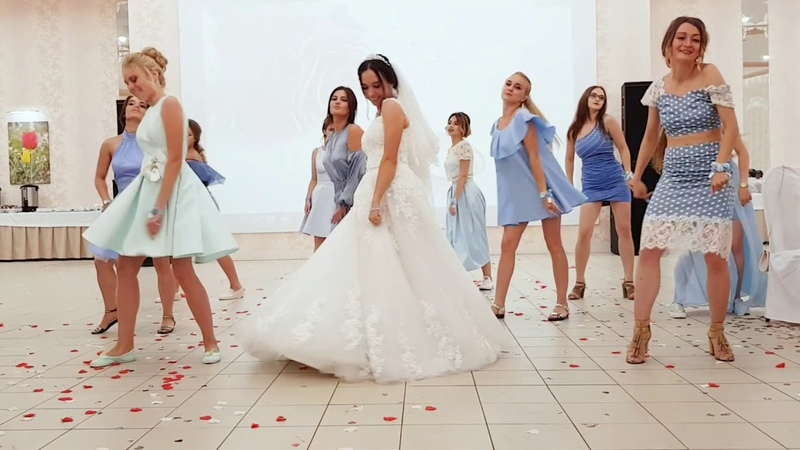 Флэшмоб на свадьбе. Свадьба цвета индиго калмыкия элиста
