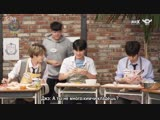 [HOLA SCHOOL with DAY6] Spanish Nicknames And Learning How To Make Empanada! [рус.саб]