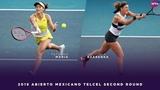 Tatjana Maria vs. Victoria Azarenka 2019 Acapulco Second Round WTA Highlights