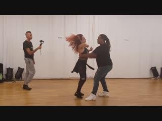 Val and Vanessa Brazilian Zouk Dance