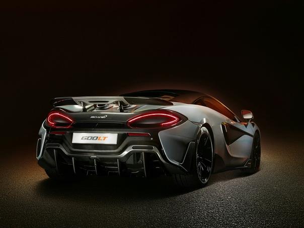 Очень редкие : 2018 McLaren 600LT