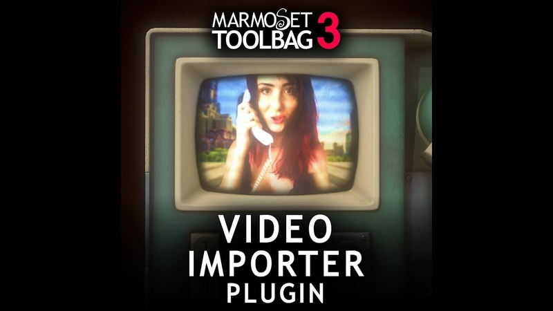 Video Importer Plugin for Marmoset Toolbag 3