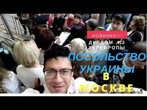 Посольство Украины в Москве. Отзывы. График работы. Как занять очередь 7 способов чокнуться.