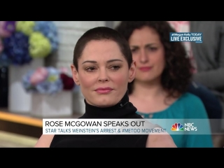 Rose McGowan: 'I Don't Want To' Forgive Harvey Weinstein | Megyn Kelly TODAY