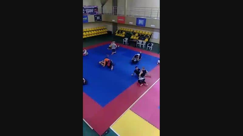 грепплинг в Бойцовском Клубе FIGHT MASTERS