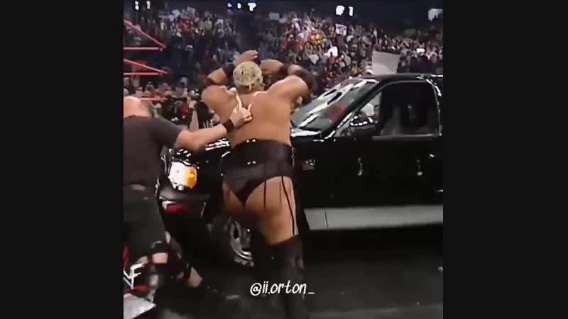 |WM| Steve Austin vs Rikishi - No Mercy 2000 - Highlights