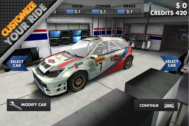 Скачать World Rally Racing HD для android