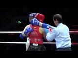 86 kg Ivan Van Khon Tun (KAZ) - Ilyass Hbibali (UAE). Semifinal. Asia Championship 2018 (Macao)