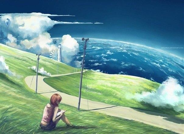 Иллюстрации молодой индонезийской художницы Niken Anindita