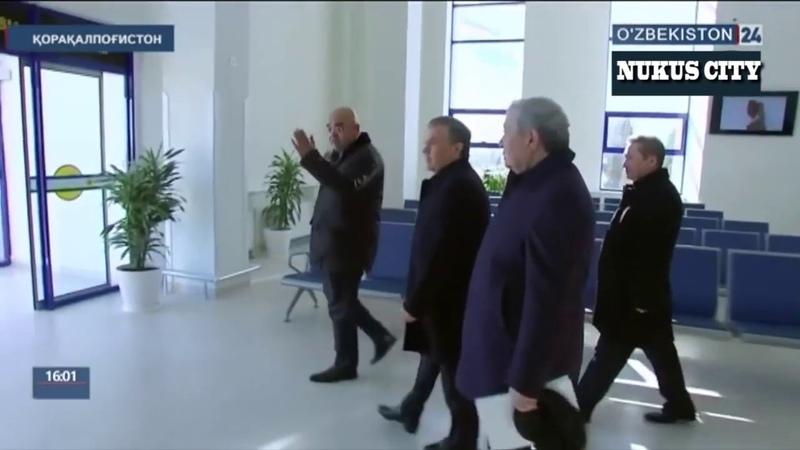 Шавкат Мирзиёев прибыл в Каракалпакстан