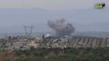 Editor ll side of the bombing of warplanes and helicopters to the town of Kfarabouda and the towns of the northern Hama