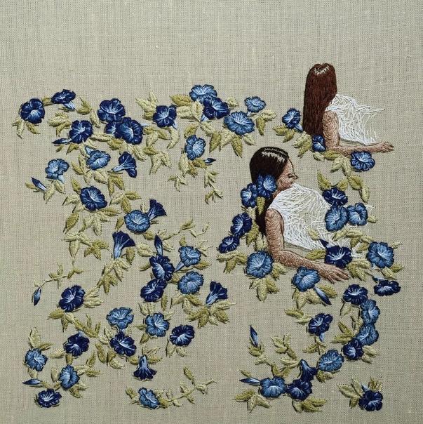 Умение вышивать - это такой же талант, как обладание художественными или музыкальными способностями