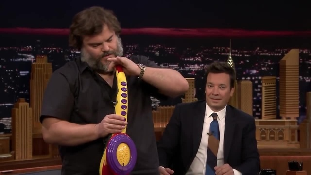 Jack Black Performs His Legendary Sax-A-Boom with The Roots · coub, коуб