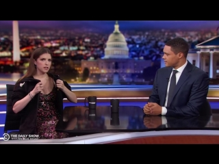 Anna Kendricks Between the Scenes Takeover - Between the Scenes _ The Daily Show