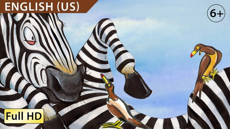 Zippy the Zebra Learn English US with subtitles Story for Children