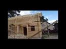 Завершен монтаж стропильной системы в доме из клееного бруса