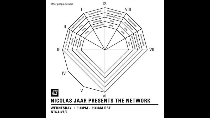 Nicolas Jaar Presents The Network (Part 1) 2016