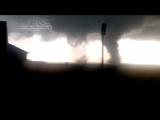 Разрушительный торнадо в Курганской области (Россия, 18 июня 2017)