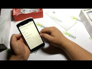 Видео обзор смартфона Lenovo S920 от Jetpad.com.ua , купить смартфон   , характеристики, отзывы
