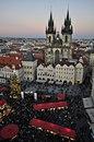 Зимняя Прага, Чехия