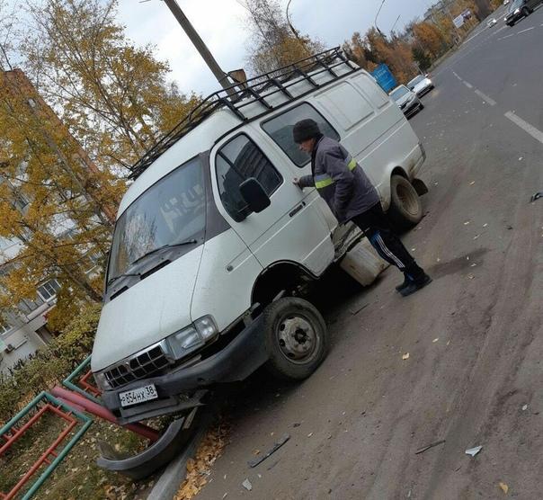 Массовое ДТП на проспекте Мира 11.10.2018