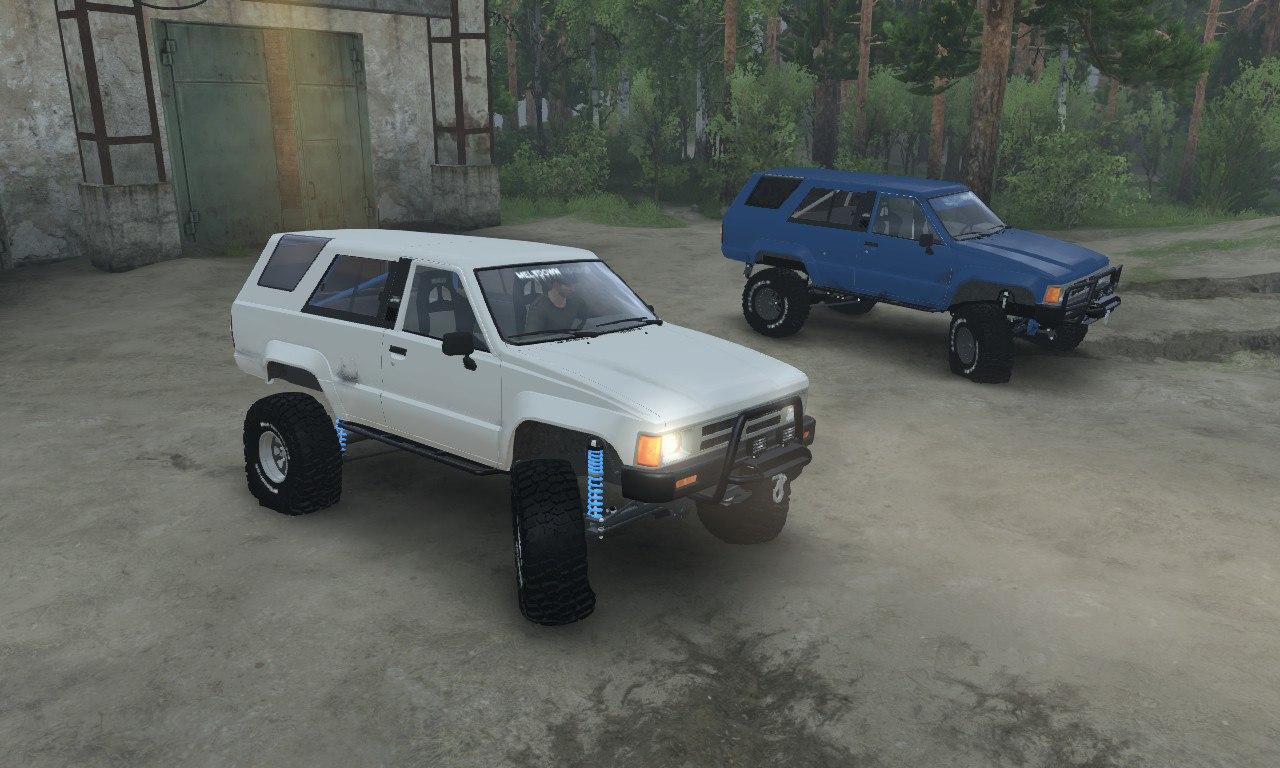 Toyota 4Runner для 03.03.16 для Spintires - Скриншот 3