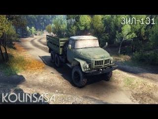 Spintires 2014 - ЗиЛ-131 (с базаром)