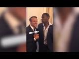 Macron et Pogba se d
