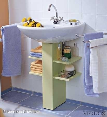 Полочка для ванны своими руками из подручных материалов 42