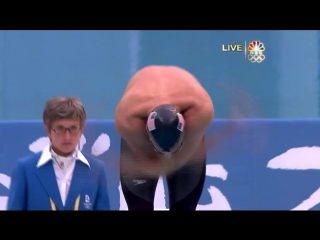Michael Phelps World Record! 6th Gold 2008 Beijing Olympics 200m