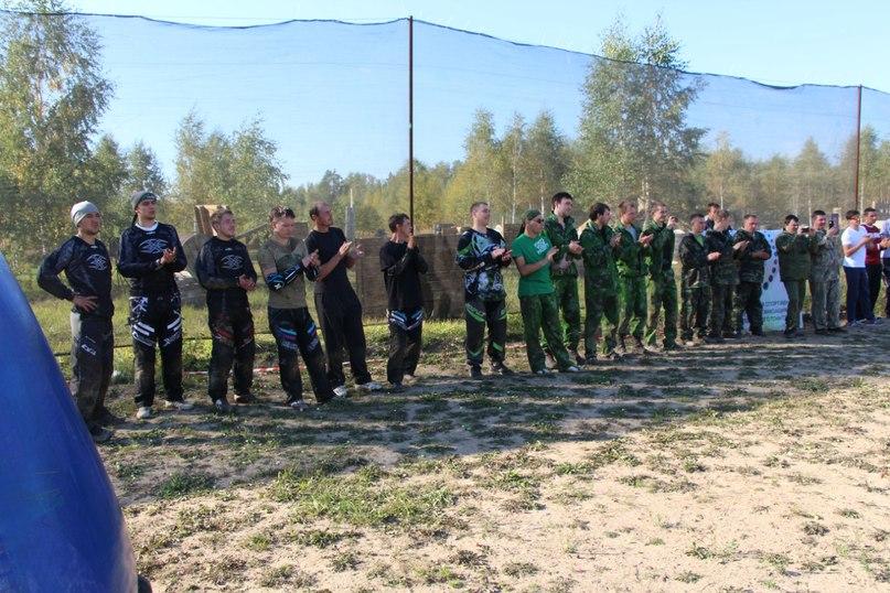 соревнования по Ивановскому пейнтболу