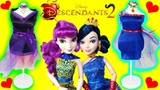 Disney DESCENDANTS 2 Design and Display Jewelry Stand, Dresses for MAL, EVIE