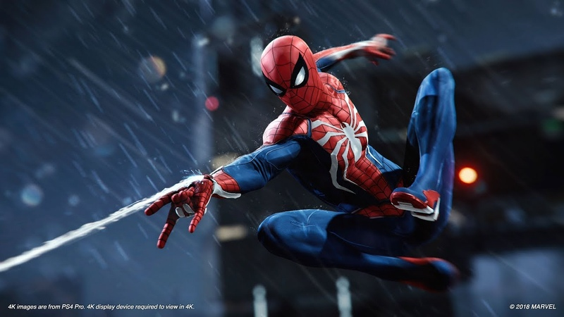Marvel's Spider-Man – E3 2018 Gameplay   PS4