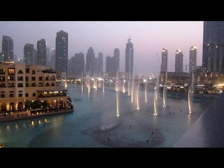 Dubai Fountains - Whitney Houston - I Will Always Love You - The English College, Dubai.mp4