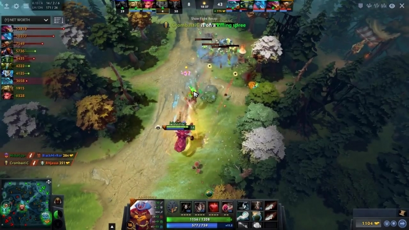 [dotatvru] Miracle SECRET LOVE — hard practicing Pangolier in party