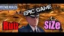 ЛЕГЕНДАРНАЯ БИТВА ВОЕННО ВОЗДУШНЫХ СИЛ Generals Zero Hour Ruiz vs SiZe