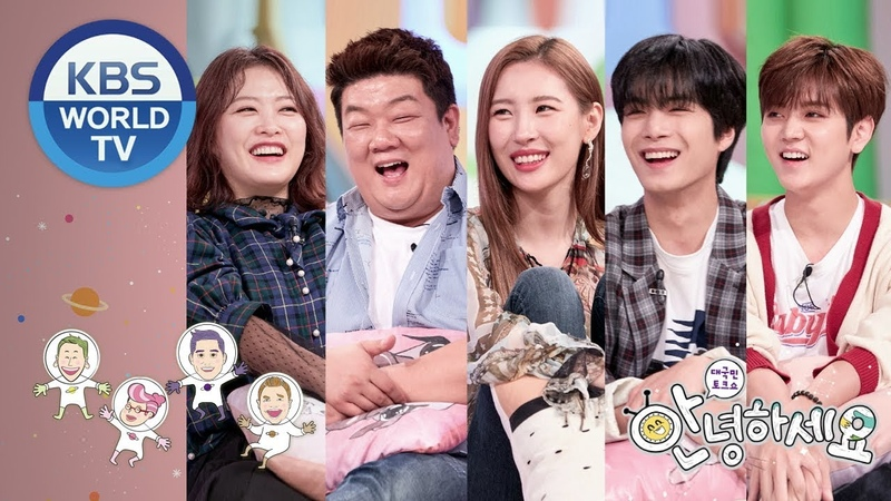 Guests Yoo Minsang, Shim Jinhwa, Sunmi, NU'EST WS JR Ren[Hello CounselorENG,THA2018.09.17]