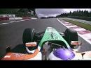 Поул Джанкарло Физикеллы Ф 1 ГП Бельгии 2009