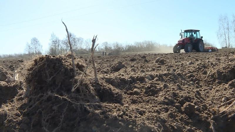 В селе Саметь Костромской области стартовали весенне-полевые работы