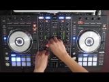 DJ Ravines Christmas Mix 2012 on a Pioneer DDJ-SX (Electro Hardstyle Dubstep Hardcore)
