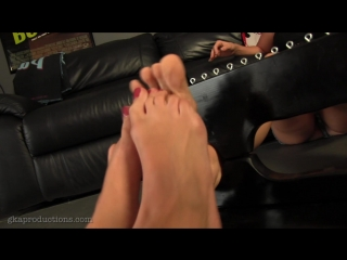Ivy Secret Has Her Feet Tickled By Nikki Brooks Toes