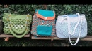 Tres maneras de forrar bolsas tejidas